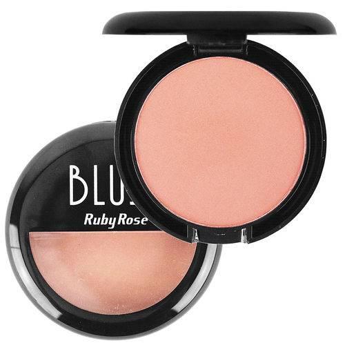 Ruby Rose Blush Compacto - Cor B1
