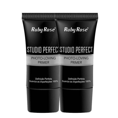 Ruby Rose - Combo 2 Unidades Primer Studio Perfect