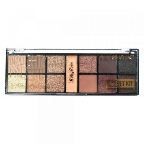 Ruby Rose Naughty By Nature Palette 12 Sombras 1 Primer Hb-9942