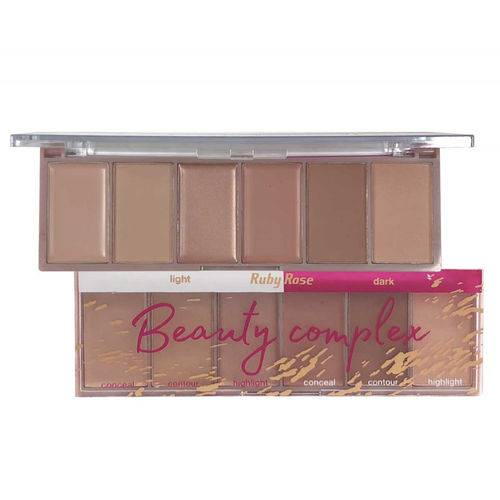 Ruby Rose Paleta 6 Cores Beauty Complex Hb7518