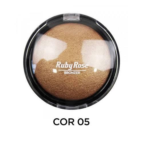 Ruby Rose Pó Bronzeador HB-7213 - Cor 5