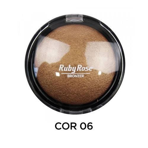 Ruby Rose Pó Bronzeador HB-7213 - Cor 6