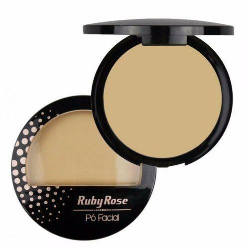 Ruby Rose Pó Compacto Facial Hb-7212 COR 1