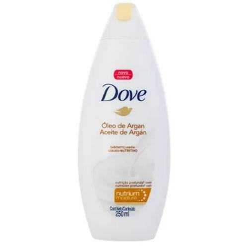 Sab Liq Dove Shower 250ml Fr Oleo Argan