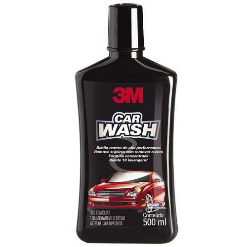 Sabão Neutro Auto Car Wash 500ml - 3m