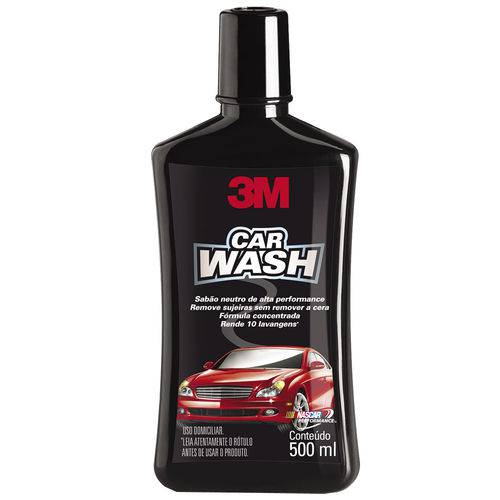 Sabao Neutro Auto 3m Car Wash 500ml