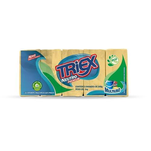 Sabao Pedra Triex com 5 Unidades Premium