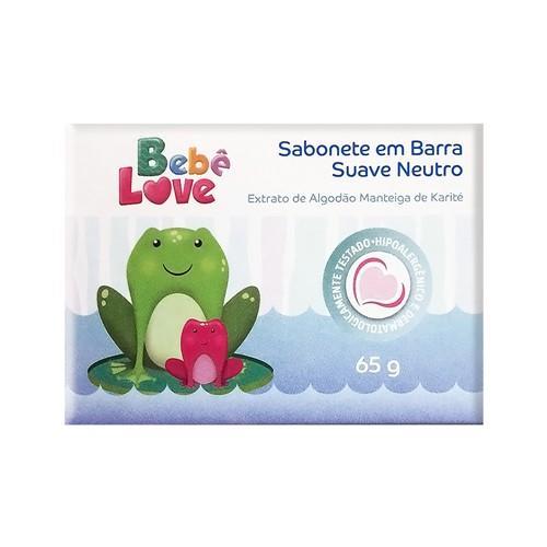 Sabonete Bebê Love Suave Neutro 65g