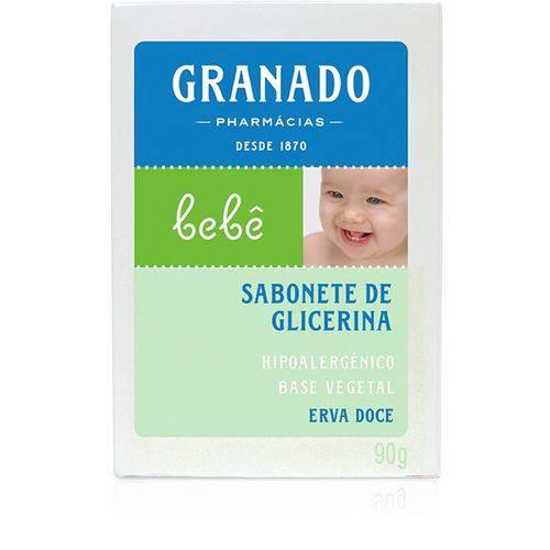 Sabonete de Glicerina Bebê Erva Doce - Granado - 90g