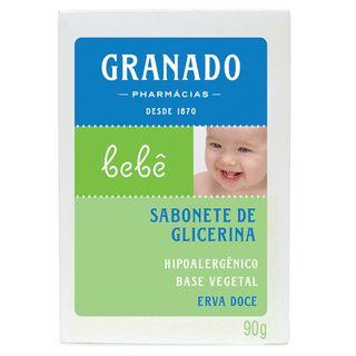 Sabonete de Glicerina Bebê Erva-Doce Granado 90g