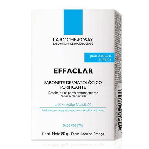 Sabonete de Limpeza Facial La Roche-Posay Effaclar Purificante 80g