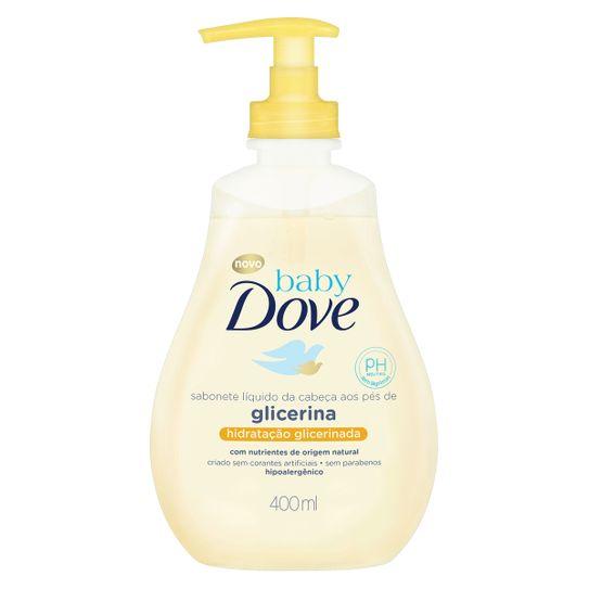 Sabonete Dove Baby Hidratação Glicerinada Liquido 400ml
