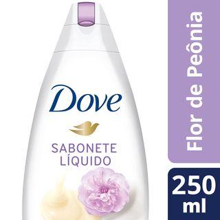 Sabonete Dove Líquido Creme Leite Peônia 250ml
