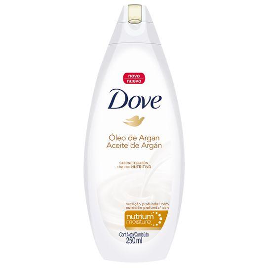 Sabonete Dove Oleo Argan Liquido 250ml