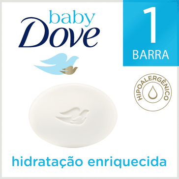 Sabonete em Barra Baby Dove Hidratação Enriquecida 75 GR