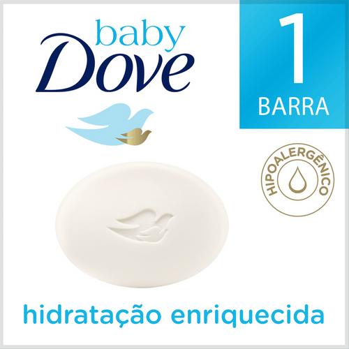 Sabonete em Barra Dove Baby Hidratação Enriquecida 75g
