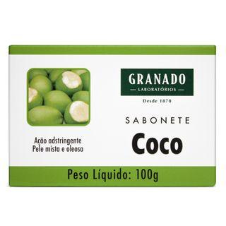Sabonete em Barra Granado - Coco 100g