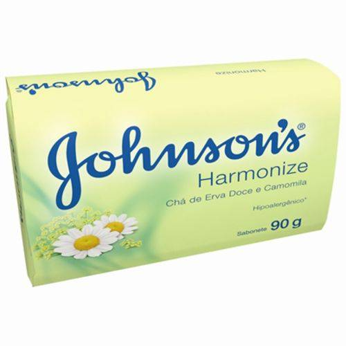 Sabonete em Barra Harmonize Chá de Erva-Doce e Camomila Johnson & Johnson 90g