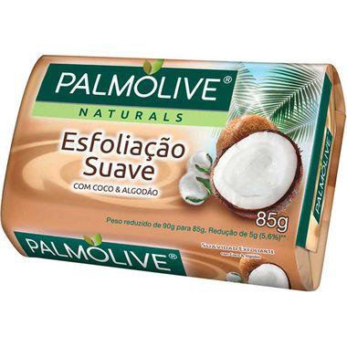 Sabonete Esfoliação Suave Coco e Algodão Palmolive 85g