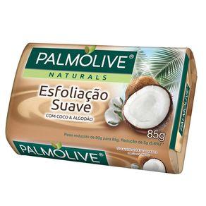 Sabonete Esfoliação Suave Coco e Algodão Palmolive Naturals 85g