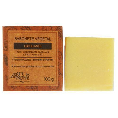 Sabonete Esfoliante Critais Quartzo 100g Arte dos Aromas