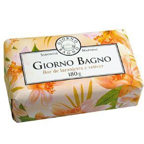 Sabonete Flor de Laranjeira e Vetiver Giorno Bagno 180g