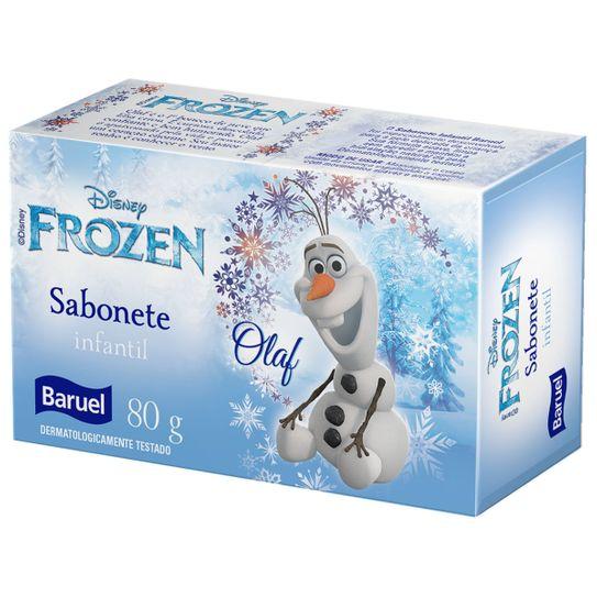 Sabonete Frozen Olaf Suave 80g