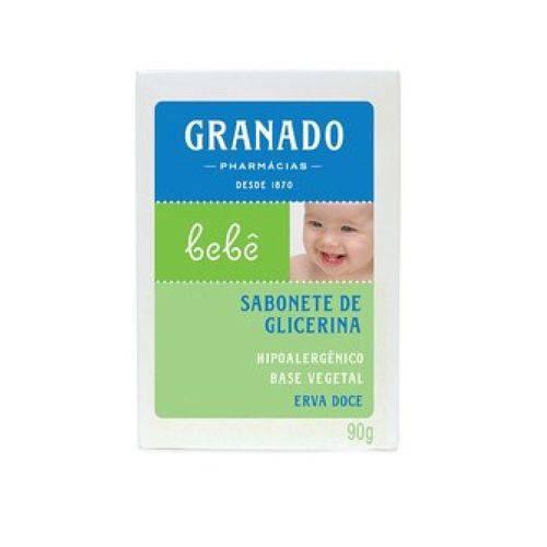 Sabonete Granado Bebe 90g Erva Doce Glicerina