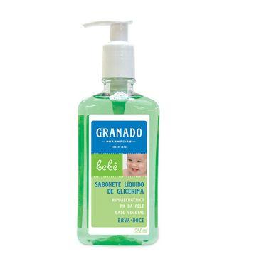 Sabonete Líquido de Glicerina Granado Bebê Erva Doce 250ml