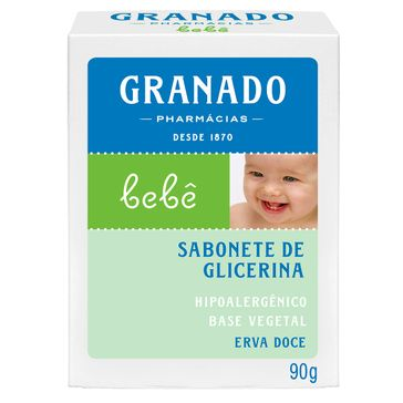 Sabonete Granado Bebê Glicerina e Erva Doce 90g