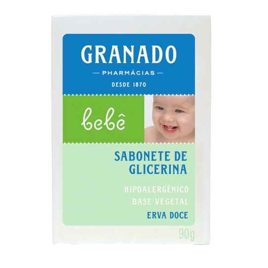 Sabonete Granado Bebê Glicerina Erva Doce 90g