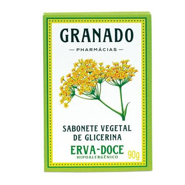 Sabonete Granado Erva-doce Barra 90g
