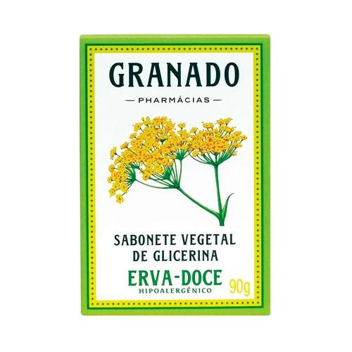 Sabonete Granado Glicerina Erva Doce com 90g