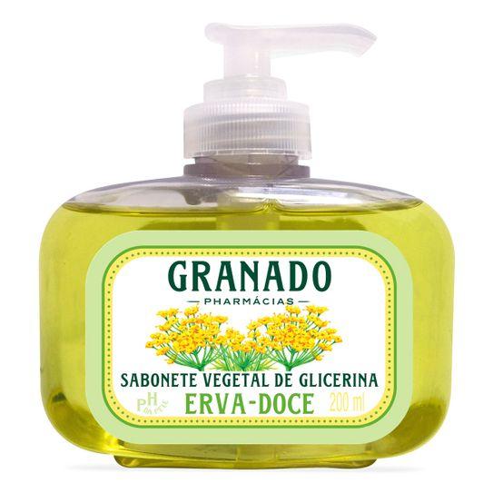 Sabonete Granado Glicerinado Erva Doce 200ml