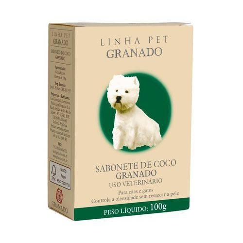 Sabonete Granado Pet Coco para Cães e Gatos 100g
