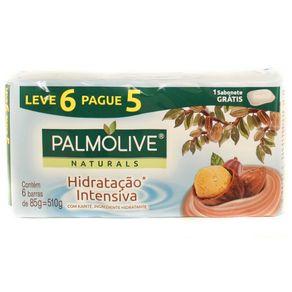 Sabonete Hidratação Intensiva Palmolive Naturals 85g Leve 6 Pague 5