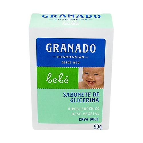 Sabonete Infantil Granado Bebê Erva Doce com 90g