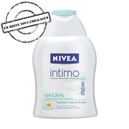 Sabonete Íntimo Nívea Natural Sabonete Íntimo Nivea Natural 250ml