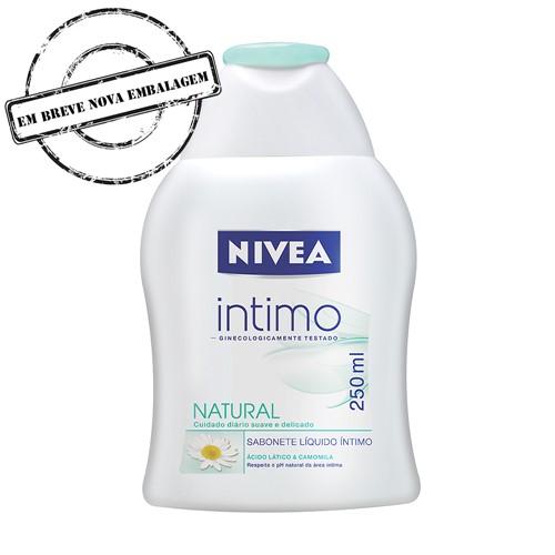 Sabonete Íntimo Nívea Natural Sabonete Íntimo Nivea Natural com 250ml
