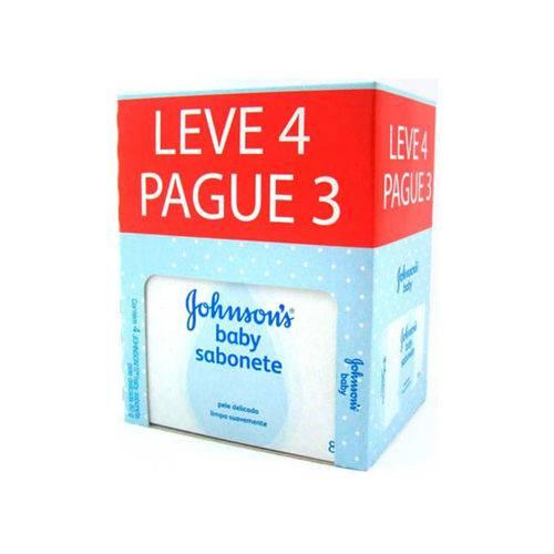 Sabonete Johnson Infantil Regular 80 G Leve 4 Unidades e Pague 3 Unidades