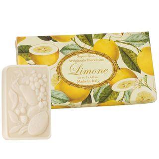 Sabonete Limone Fiorentino - Estojo de Sabonetes Perfumados Kit