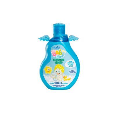 Sabonete Líquido Baby Azul 100ml - Muriel