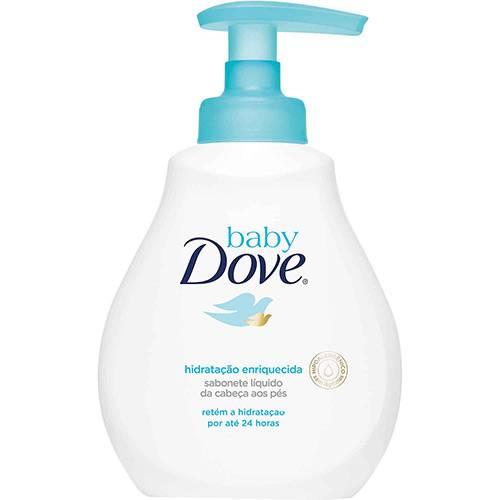 Sabonete Líquido Baby Dove Hidratação Enriquecida - 400ml
