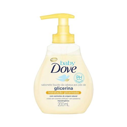 Sabonete Líquido Dove Baby Hidratação Glicerinada 200ml