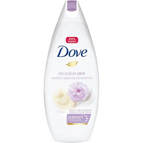 Sabonete Líquido Dove Delicious Care Creme e Flor de Peônia 250ml