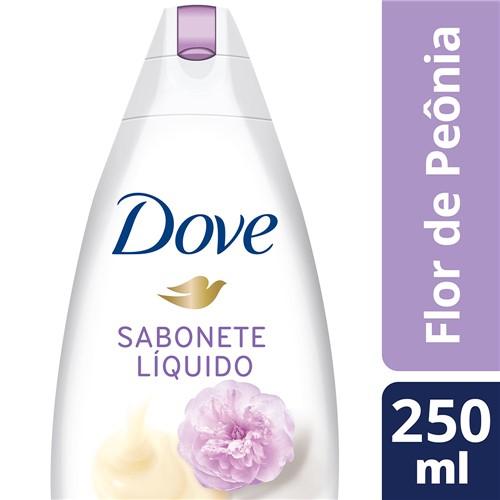 Sabonete Líquido Dove Delicious Care Flor de Peônia com 250ml