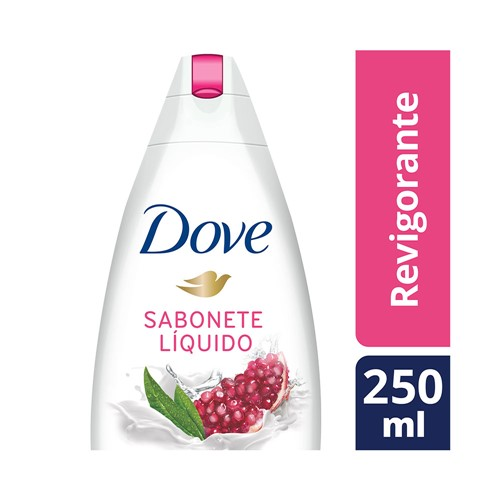 Sabonete Líquido Dove Go Fresh Romã e Verbena 250ml