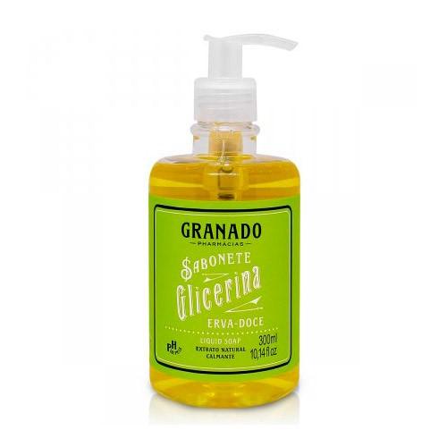 Sabonete Líquido Granado Glicerina Erva Doce 300ml