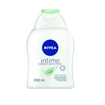 Sabonete Líquido Íntimo Nivea Natural 250ml