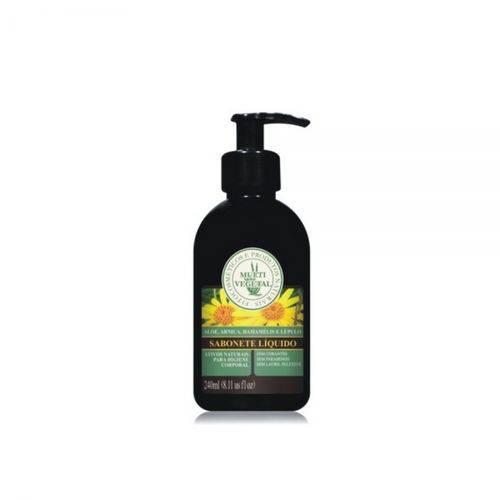 Sabonete Líquido Natural para o Corpo 240ml - Multivegetal